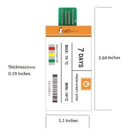 7 DAY Disposable USB Data Logger