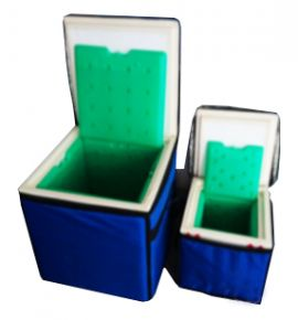 Cold Chain Box 12 Litre - minimum holding time 72 hours (with Green Gel)