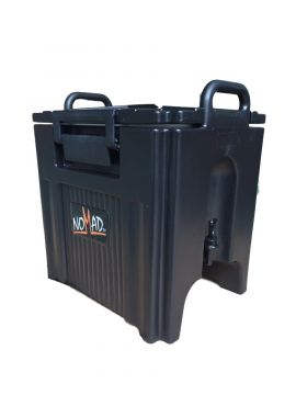 40L Insulated Flask with Tap-Black