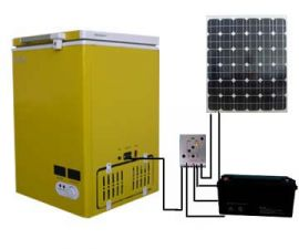 Eco Powered Fridge/Freezer 280 Litre capacity